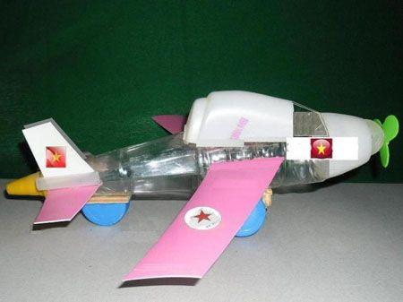 Сделать танк и самолет своими руками